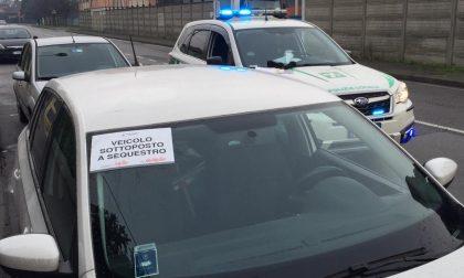 In mezz'ora la Polizia Locale sequestra due auto senza assicurazione