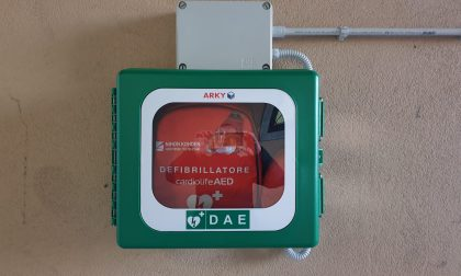 Installato defibrillatore a Masate, lo ha portato... lo spinning