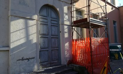 Infiltrazioni al centro culturale di Inzago