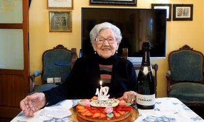 Cassina de' Pecchi festeggia i 102 anni di Anna Pala