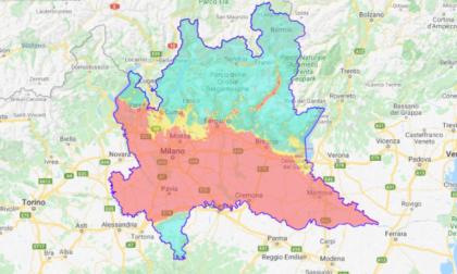 Qualità dell'aria in Lombardia in  miglioramento