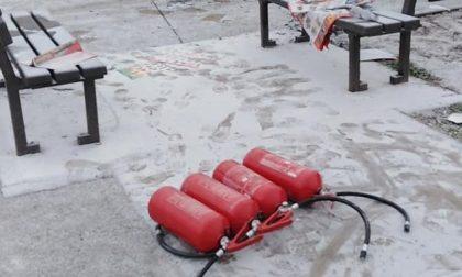 Vandali in azione a Pioltello nel parco appena inaugurato