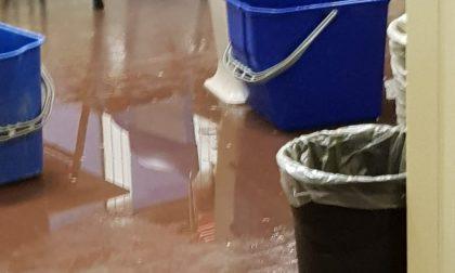 A Cassina de' Pecchi piove tra i banchi di scuola