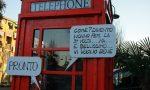 Melzo come Londra: in via Verdi compare la tipica cabina telefonica