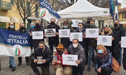 """""""Ristoratori e baristi presi in giro da Governo e Amministrazione"""": FdI protesta a Gorgonzola"""