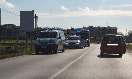 Tamponamento sulla Cerca: traffico in tilt