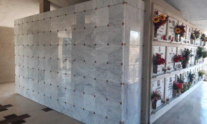 Sempre più cremazioni, il cimitero di Trezzo si adegua