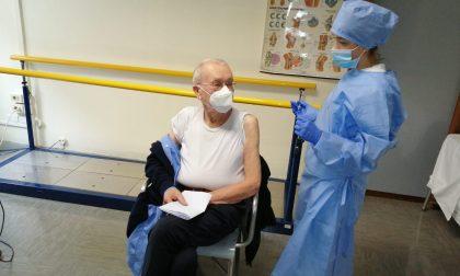 Partite da Trezzo le vaccinazioni per gli over 80 dell'Adda Martesana