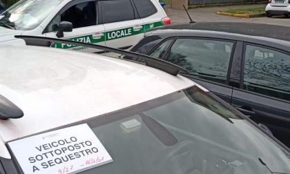 Ancora auto senza assicurazione: la Polizia Locale sequestra il nono veicolo dall'inizio dell'anno