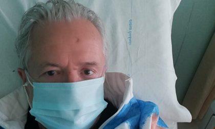 """Guarito dal Covid: """"Grazie ai medici e agli infermieri dell'ospedale"""""""