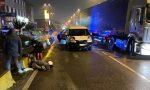 Pedone travolto da un furgoncino: paura per un 35enne