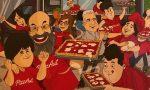 Un fumetto che racconta la storia di PizzAut e del suo fondatore