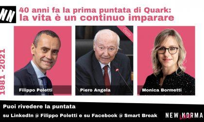 """Piero Angela a """"New Normal Live"""" per i 40 anni di Quark"""