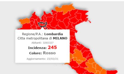 La Lombardia resta zona rossa sino a Pasqua