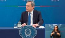 """Il premier Draghi conferma: """"Dopo Pasqua scuole aperte fino alla prima media anche in zona rossa"""""""