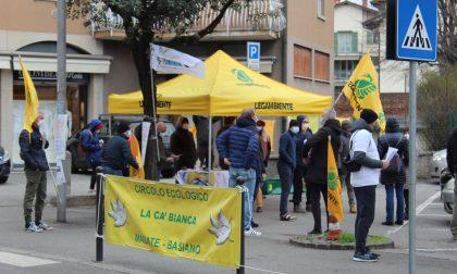 No all'ampliamento della logistica di Vaprio. Associazioni e cittadini in strada per protestare