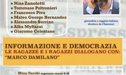 """Informazione e democrazia: se ne parla con il circolo Pd """"Don Milani"""""""