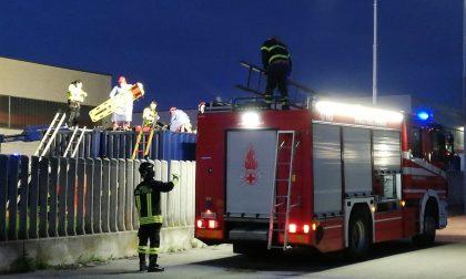 Infortunio sul lavoro a Basiano, operaio 29enne soccorso da ambulanza, eliscoccorso e pompieri