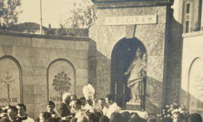 Una raccolta fondi per restaurare l'edicola della Madonna di Cernusco