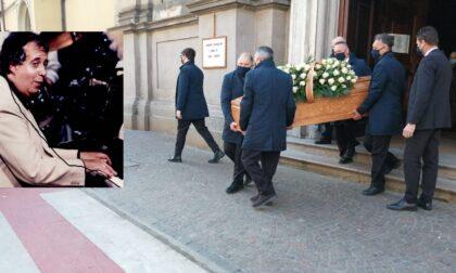 Cassano d'Adda ha salutato per l'ultima volta il maestro Paolo Prencipe
