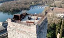 La Torre viscontea di Trezzo sull'Adda diventa un suggestivo Dj set