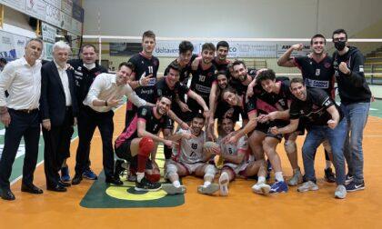 Brugherio vince 3-2 e conquista il primo atto della sfida ai quarti di finale contro Grottazzolina