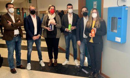 Borracce ed erogatori: così le scuole di Inzago diventano plastic free