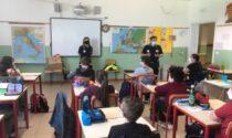 Gli studenti di Pozzo a lezione con la Protezione civile