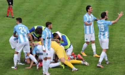 Pistoiese battuta 2-0: la Giana resta in serie C