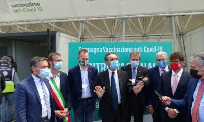 "Fontana a Novegro: ""Da oggi la Lombardia ha parametri da zona bianca"""