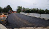 Il ponte sulla ferrovia di Cassano d'Adda, chiuso da febbraio, riapre