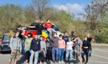 Le meglio gioventù di Melzo ripulisce la città dai rifiuti abbandonati