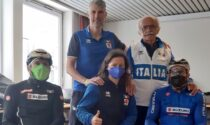 Raduno in Martesana per la nazionale di paraciclismo in vista delle Olimpiadi