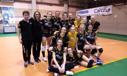 New Volley Adda, promozione in B2 con dedica