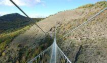 Lombardia patria dei ponti tibetani da record: ha il più alto e il più lungo