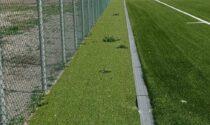 Grezzago: il campo è nuovo, ma già ci crescono le erbacce