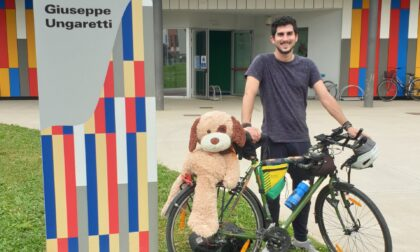 Il maestro dell'elementare in bici da Melzo a Capo Nord: seimila chilometri eco-sostenibili