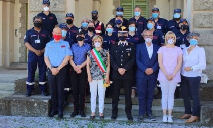 L'Associazione nazionale Carabinieri in festa a Trezzo sull'Adda