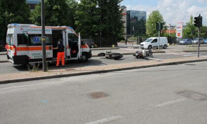 Incidente sulla Padana a Cernusco, coinvolti due motociclisti