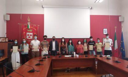 Cassano d'Adda ha reso omaggio agli studenti eccellenti