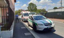 Anziano cade dalla bici a Pioltello e arriva l'ambulanza