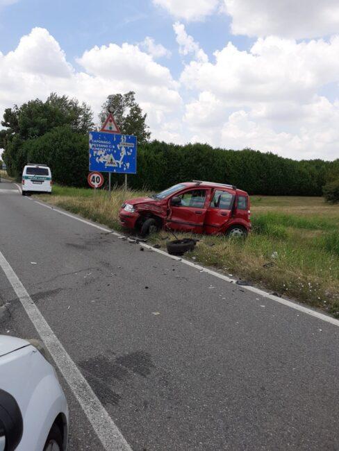 Incidente a Cambiago in via Matteotti