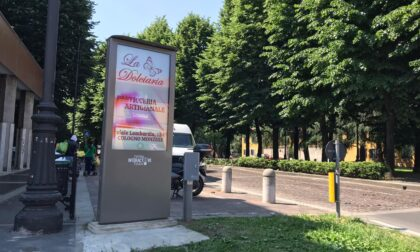 Le nostre notizie si leggono in centro a Cologno con un tocco grazie al Totem Interactive Touch di Publi Città