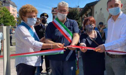 Due inaugurazioni in un colpo solo: taglio del nastro per il Parco Tre Fontanili e per la casa dell'acqua
