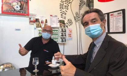 """Covid in Lombardia, Fontana: """"Fascia bianca e abolizione coprifuoco si avvicinano"""""""