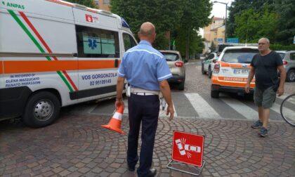 Investito un pedone in piazza Risorgimento a Cernusco