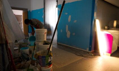 Lavori di ristrutturazione alla elementare di via De Amicis a Segrate