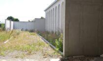 Lavori al cimitero di Brembate a  un punto di svolta
