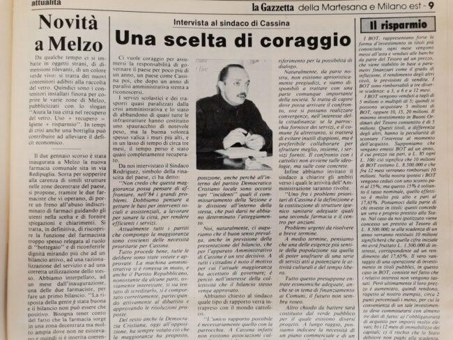 gazzetta della martesana alberto rodriguez 1984