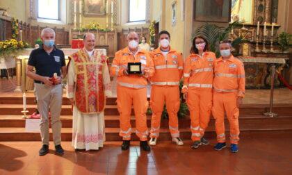 Margherita d'oro a Melzo: premiati i volontari della Croce Bianca